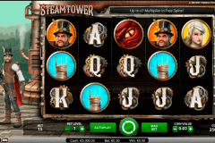 steam tower netent spelautomat