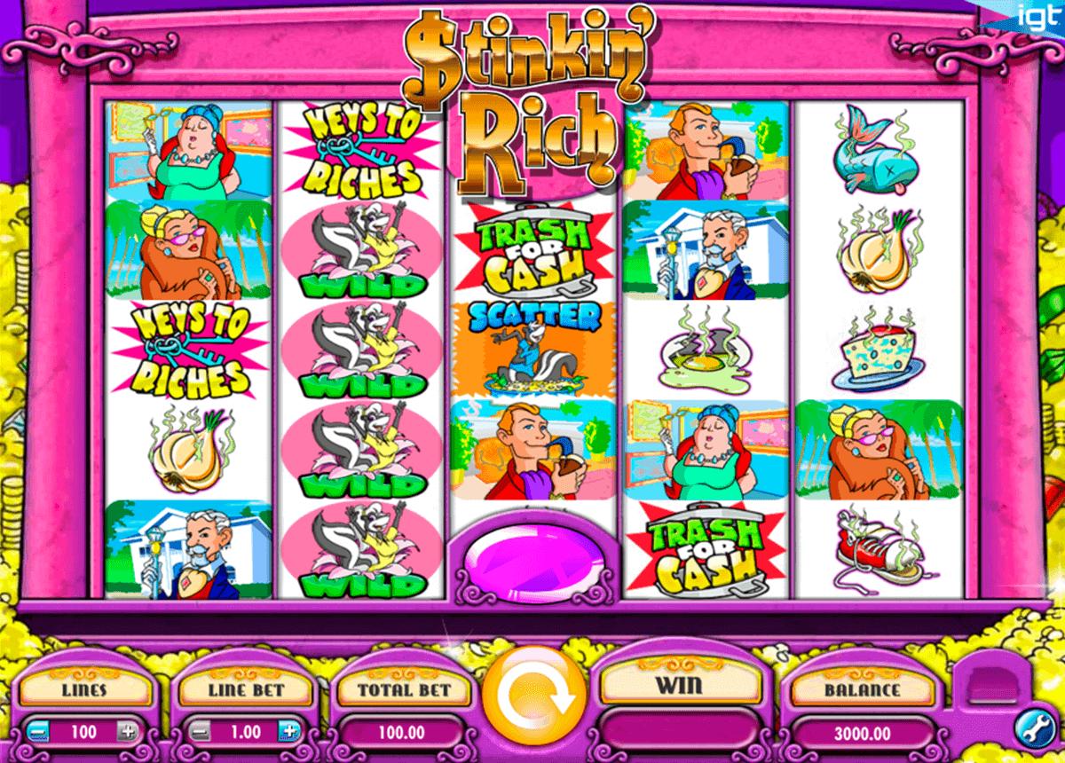 stinkin rich igt spelautomat