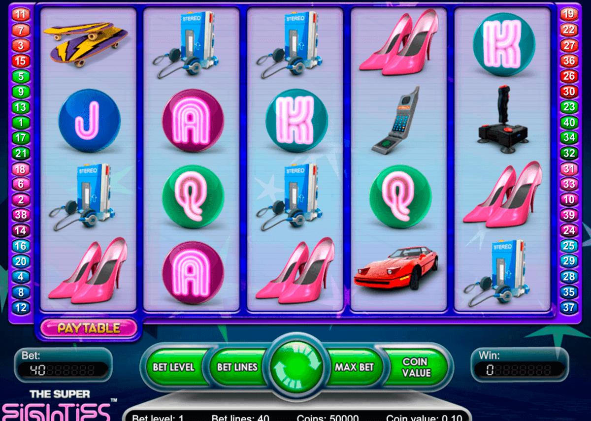 super eighties netent spelautomat