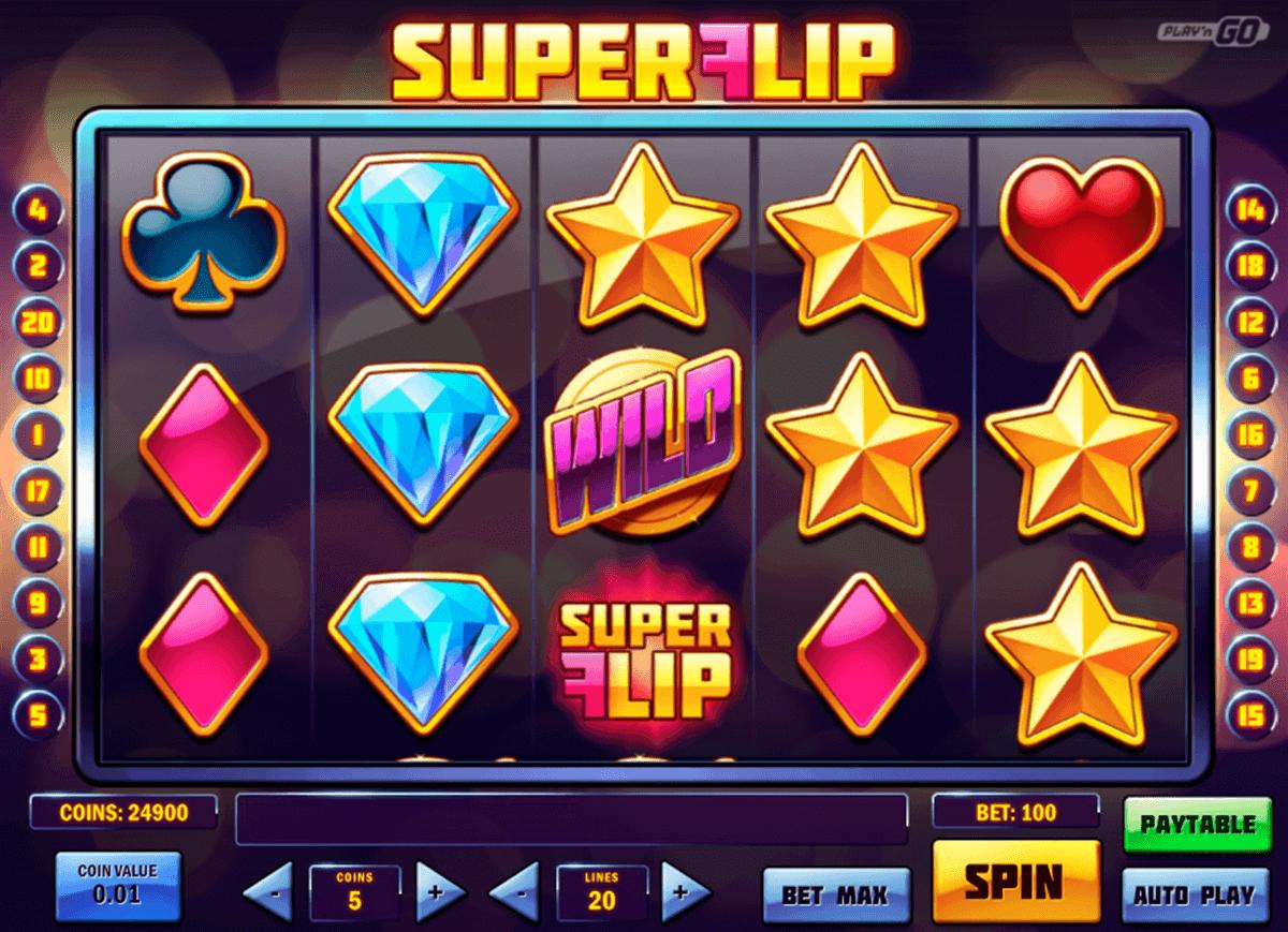 super flip playn go spelautomat