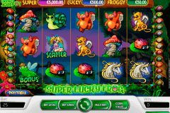 super lucky frog netent spelautomat