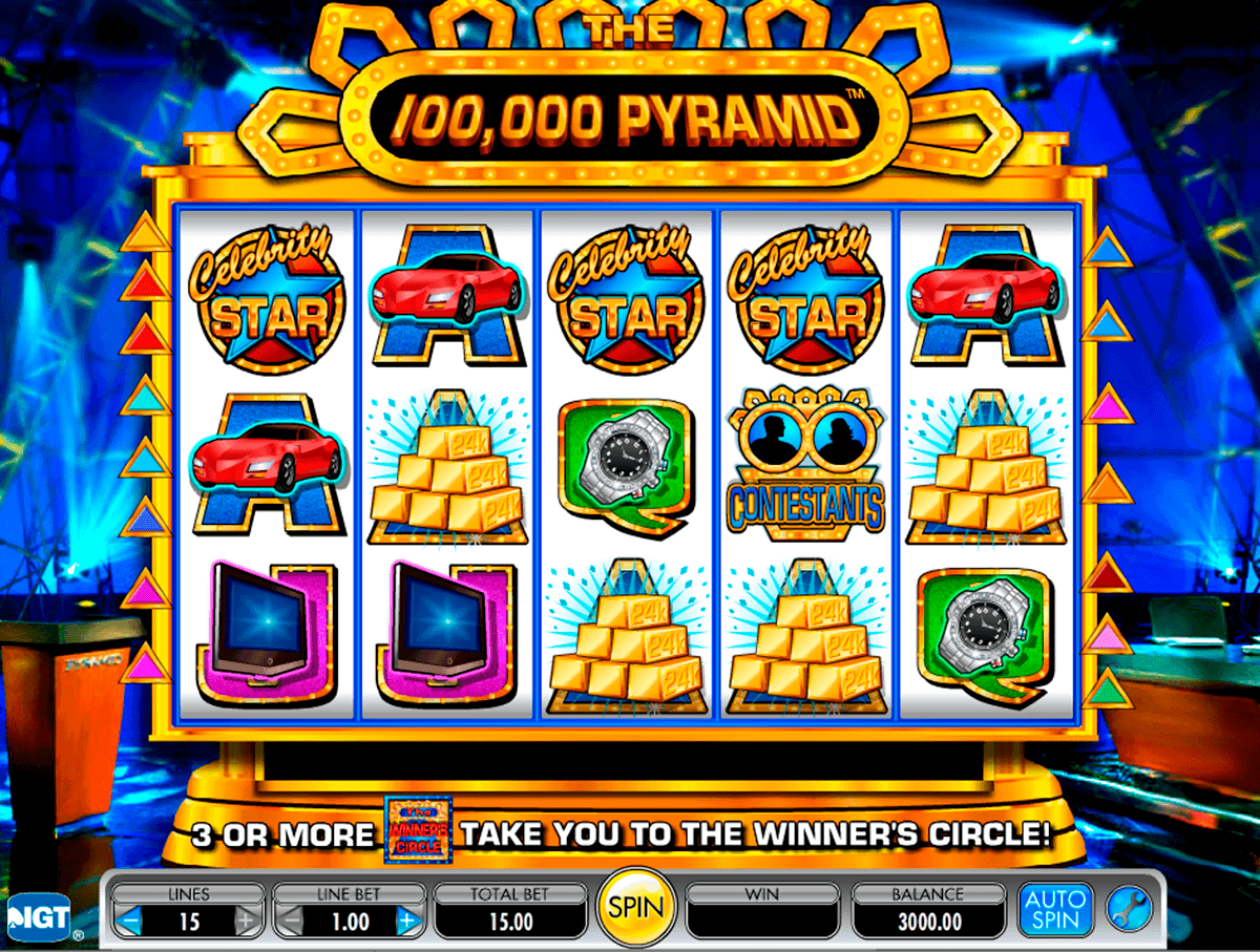the  pyramid igt spelautomat