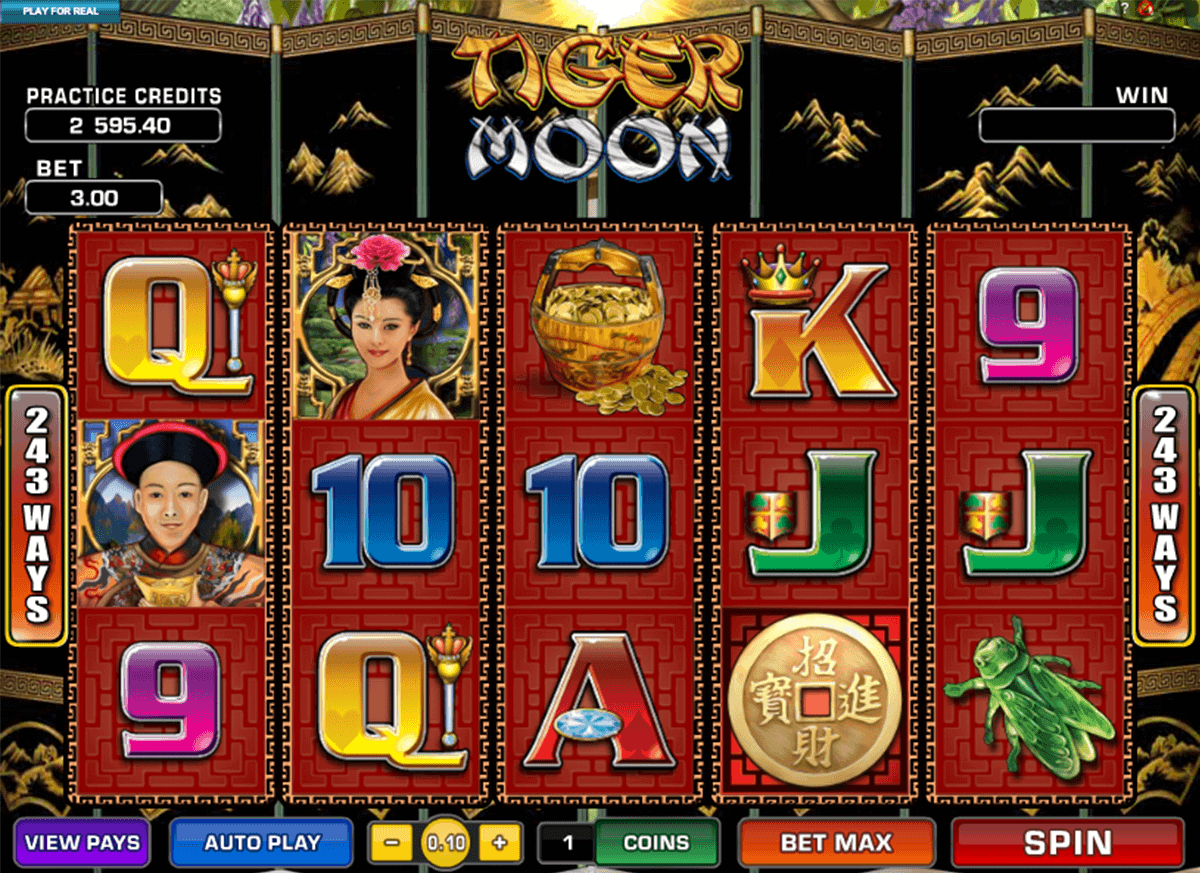 tiger moon microgaming spelautomat