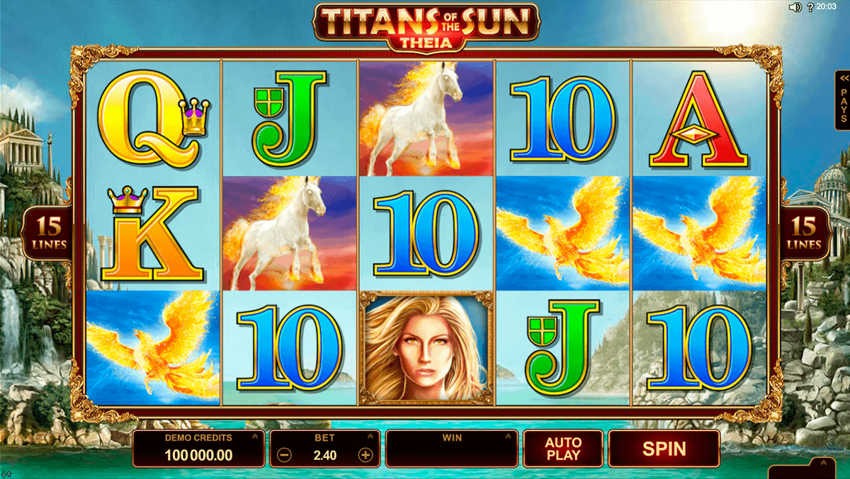 titans of the sun theia microgaming spelautomat