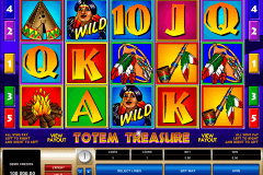 totem treasure microgaming spelautomat