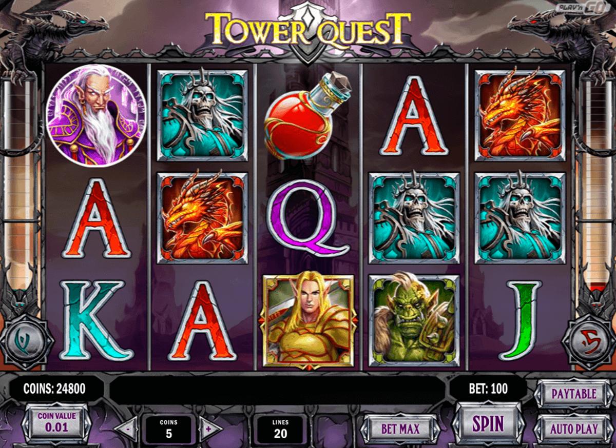 tower quest playn go spelautomat