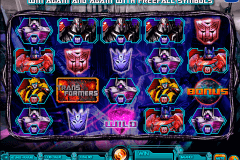 transformers battle for cybertron igt spelautomat