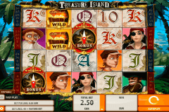 treasure island quickspin spelautomat