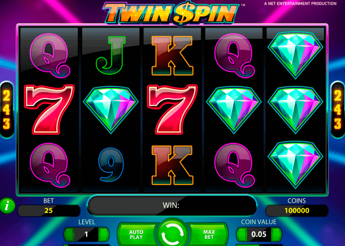 twin spin netent spelautomat