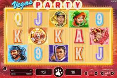 vegas party netent spelautomat