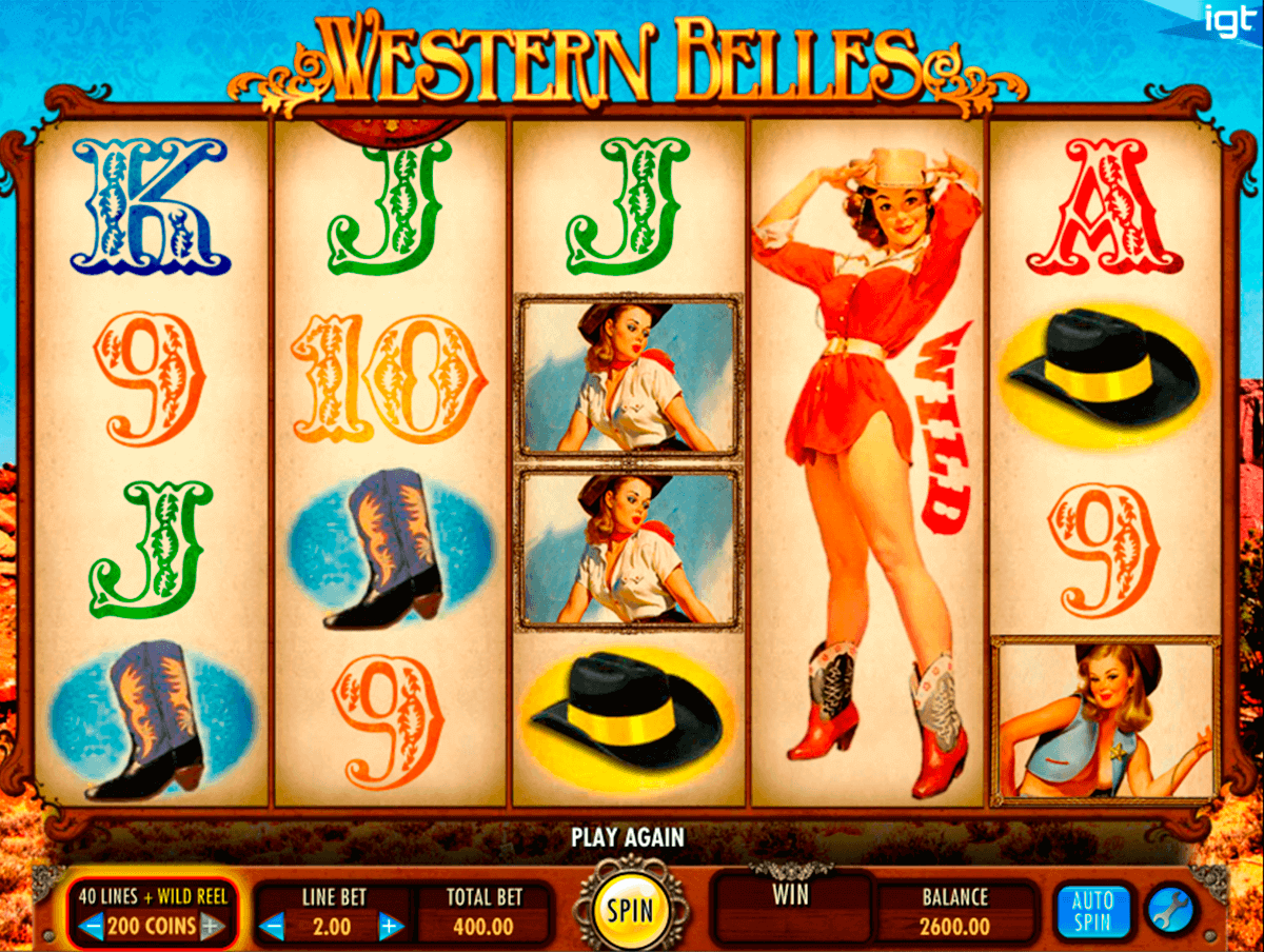 western belles igt spelautomat