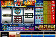 wheel of wealth microgaming spelautomat