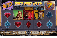 wild wild west the great train heist netent spelautomat