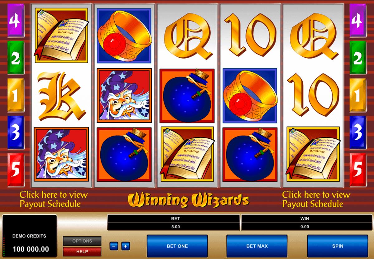 winning wizards microgaming spelautomat
