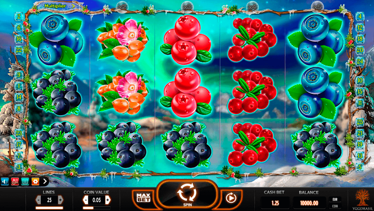 winterberries yggdrasil spelautomat