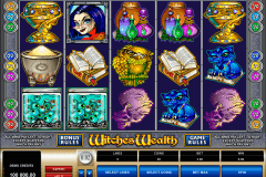 witches wealth microgaming spelautomat