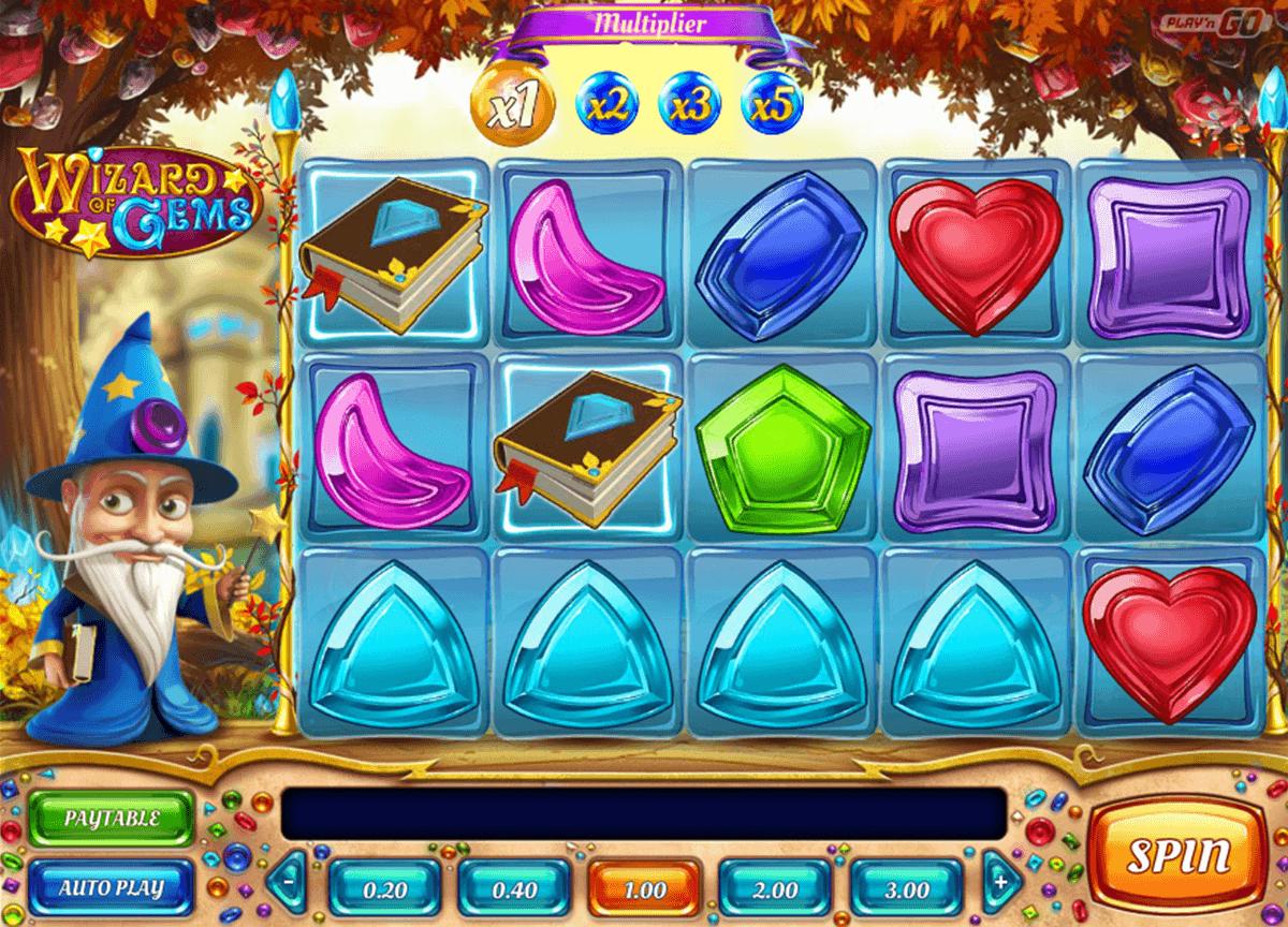 wizard of gems playn go spelautomat