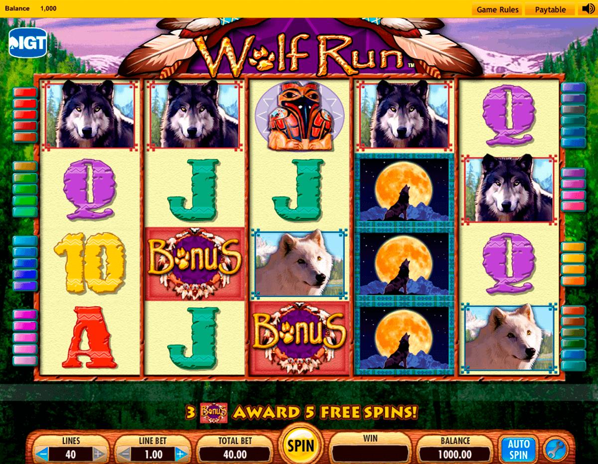 wolf run igt spelautomat