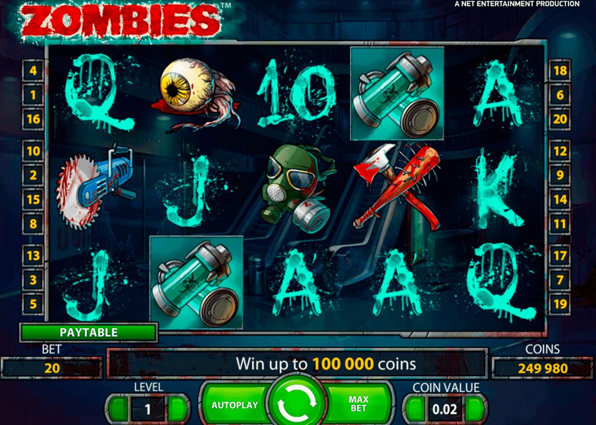 zombies netent spelautomat