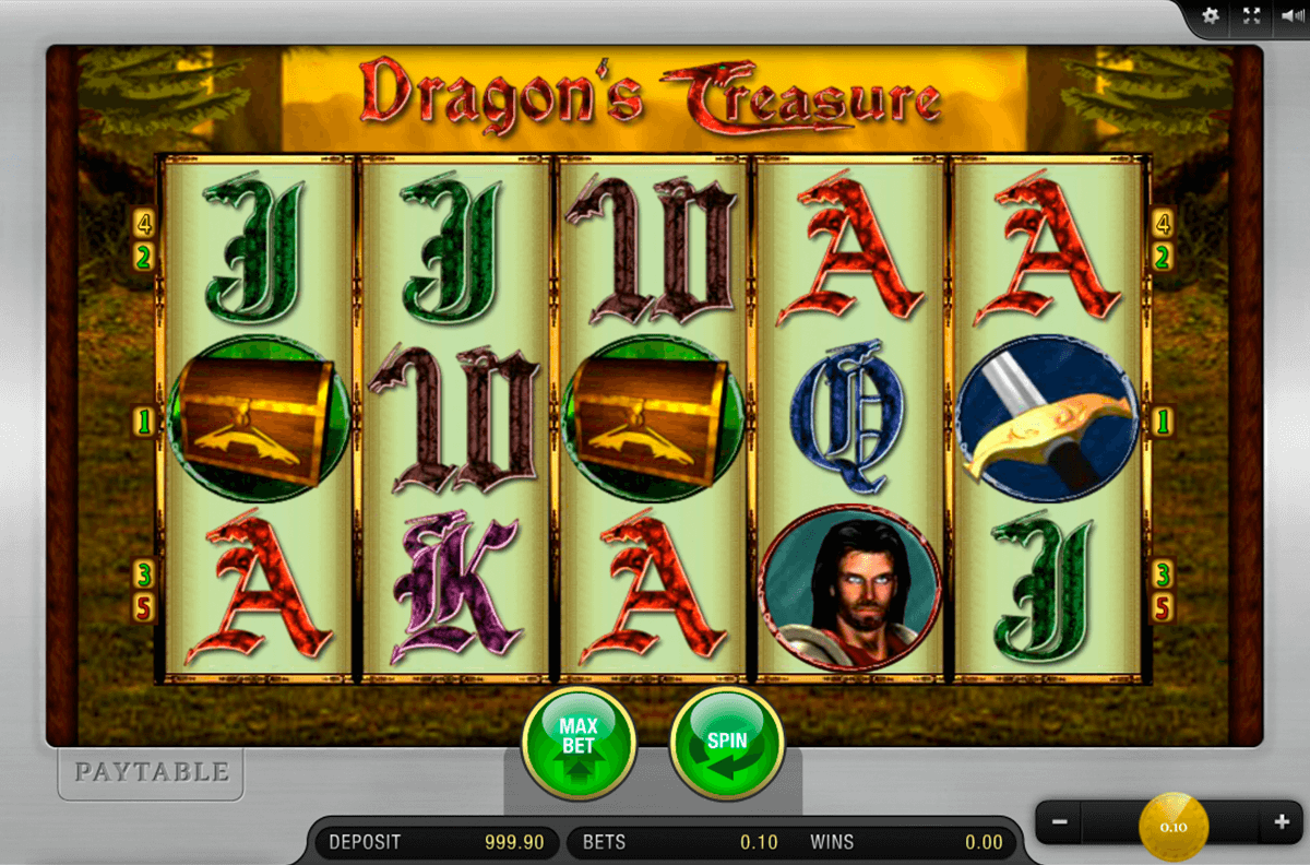 dragons treasure merkur