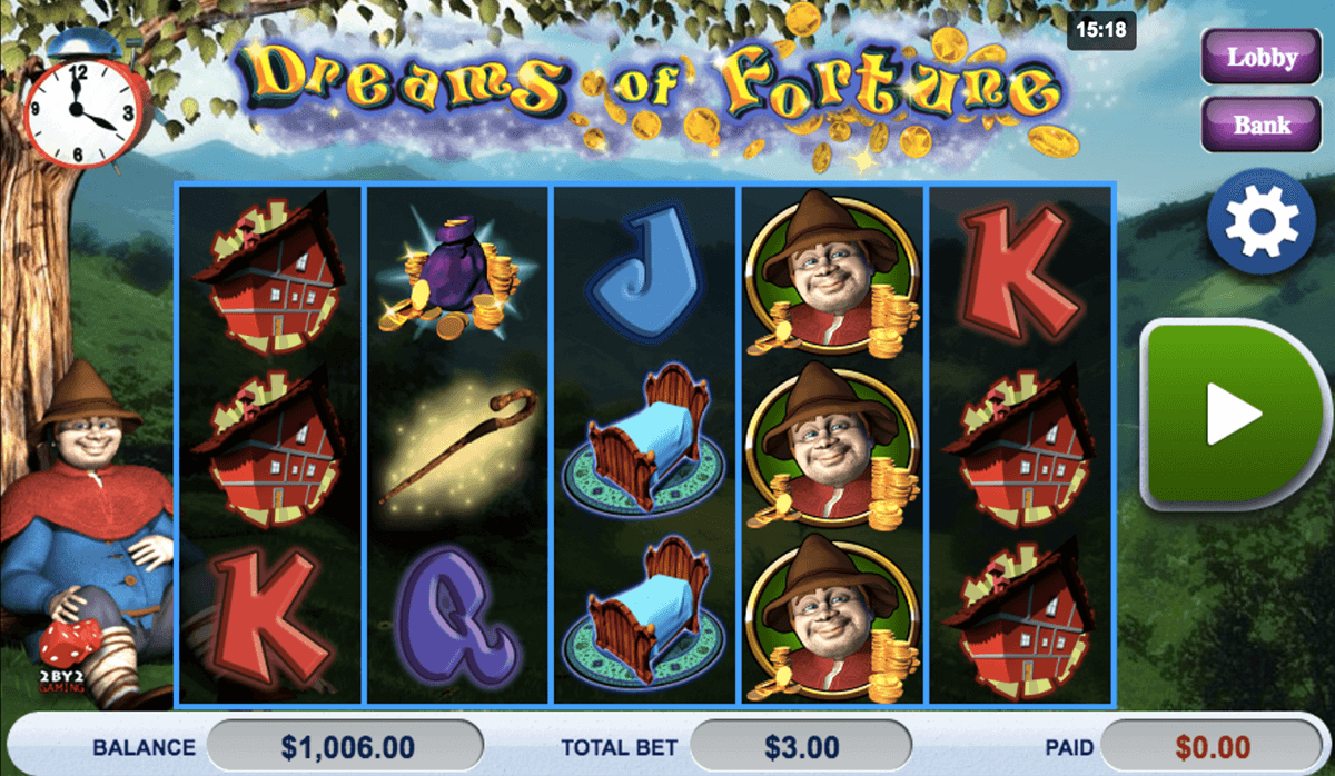 dreams of fortune by gaming