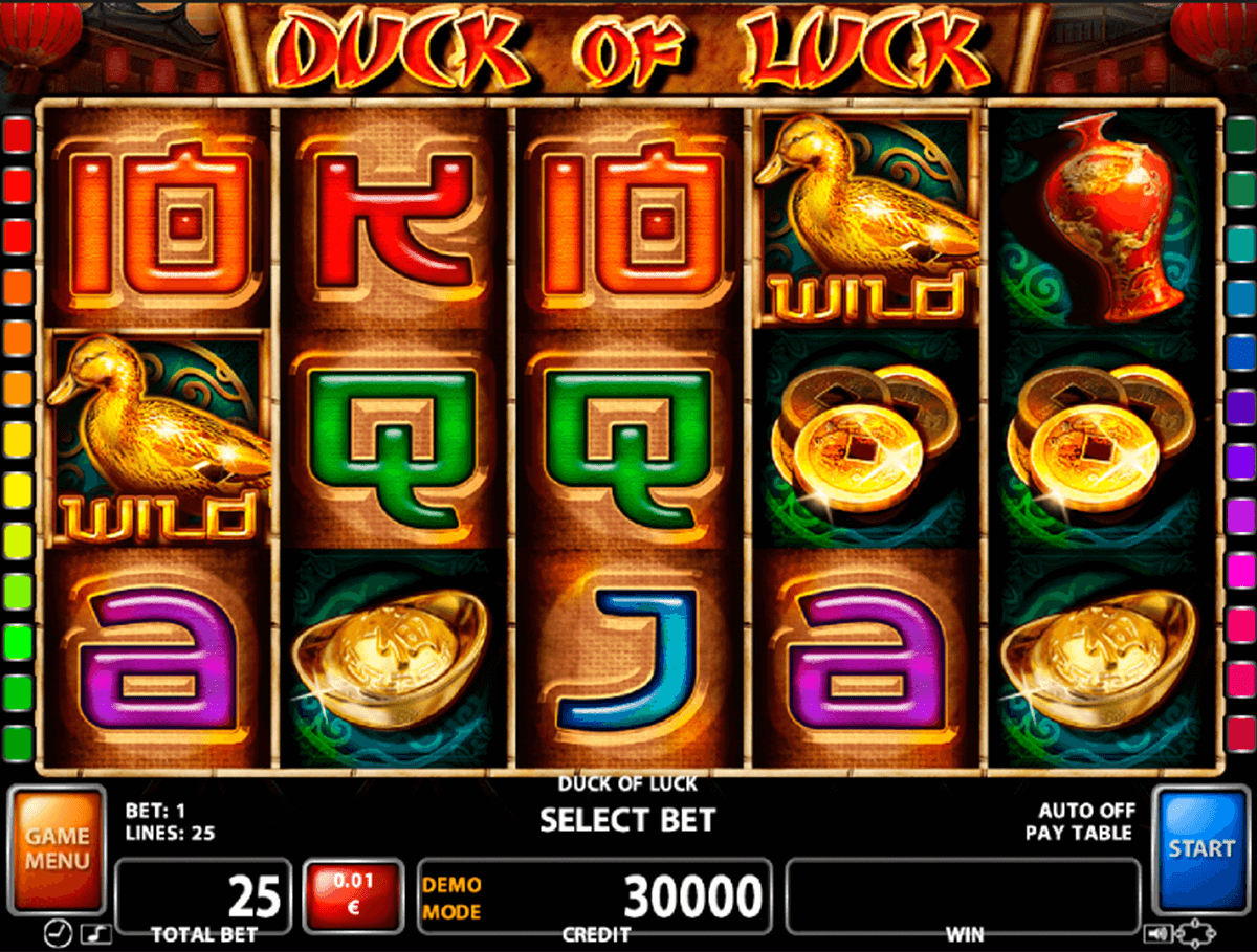 duck of luck casino technology