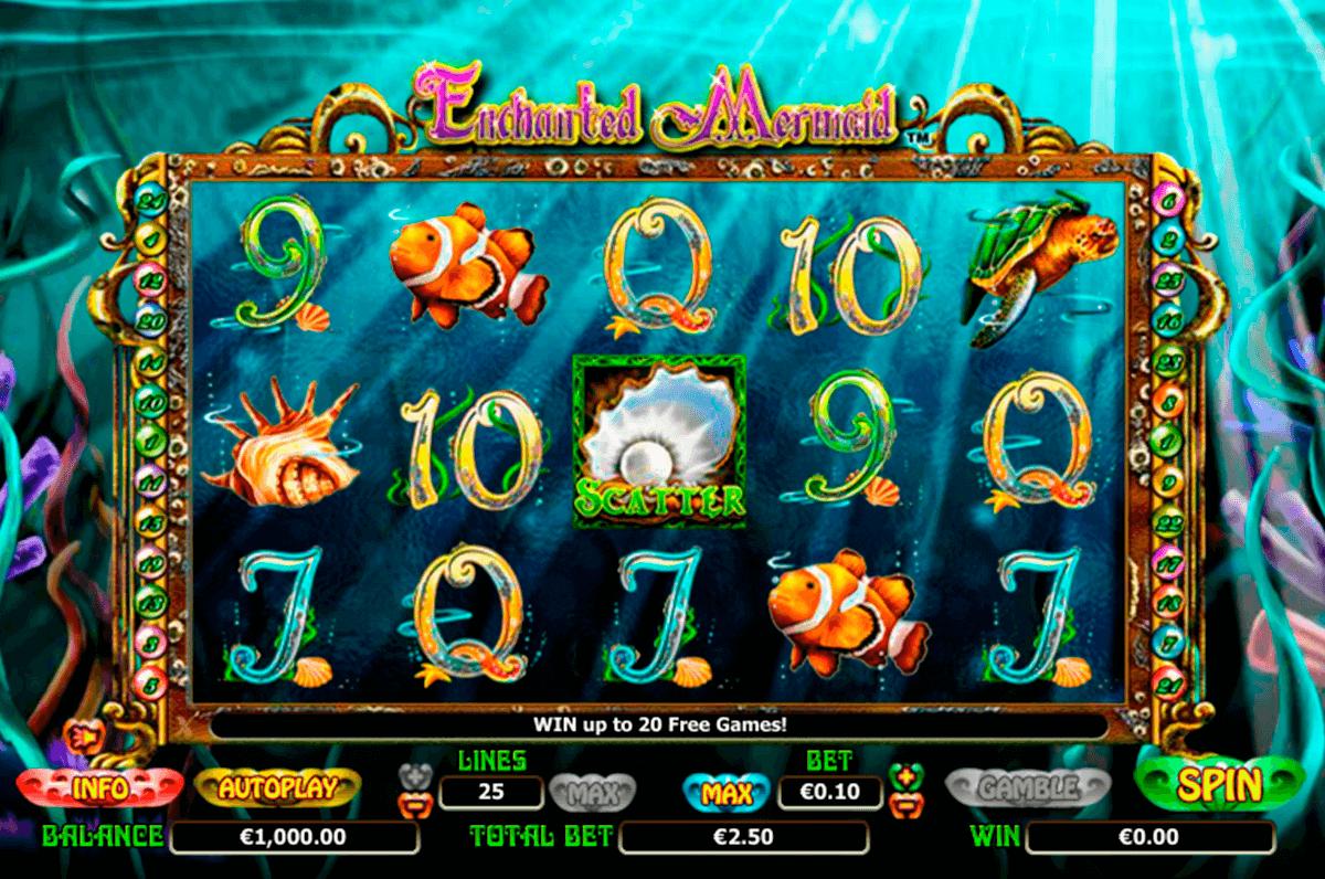 enchanted mermaid netgen gaming