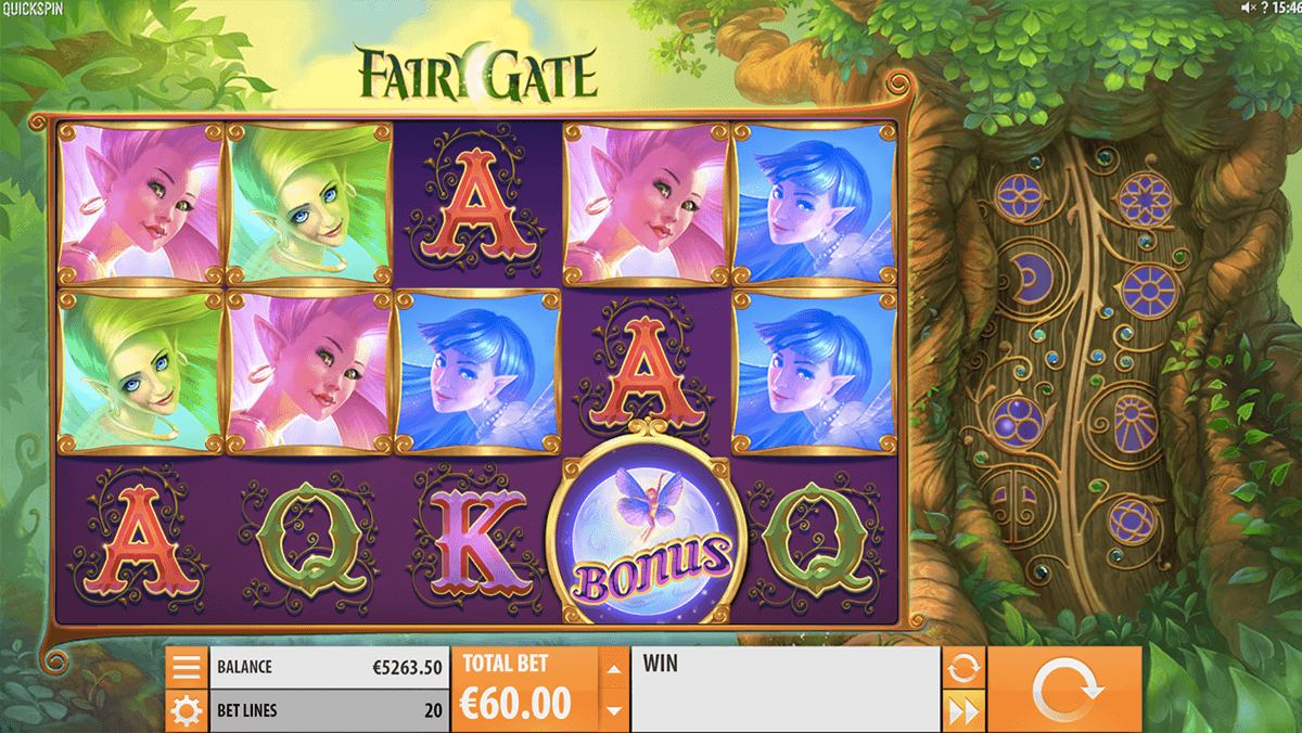 fairy gate quickspin