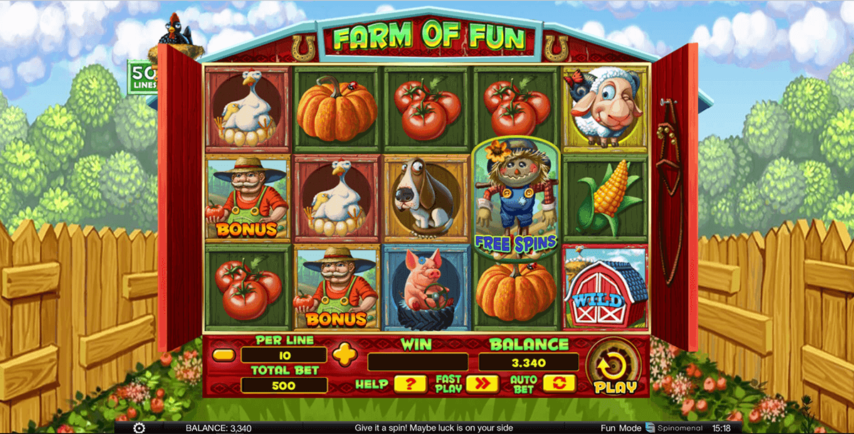 farm of fun spinomenal