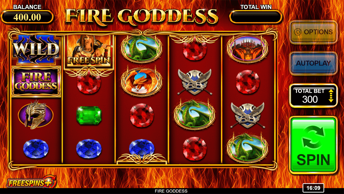 fire goddess inspired gaming