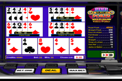 five draw poker betsoft