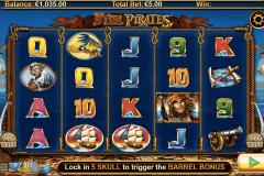 five pirates lightning bo
