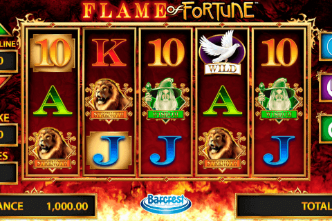 flame of fortune barcrest