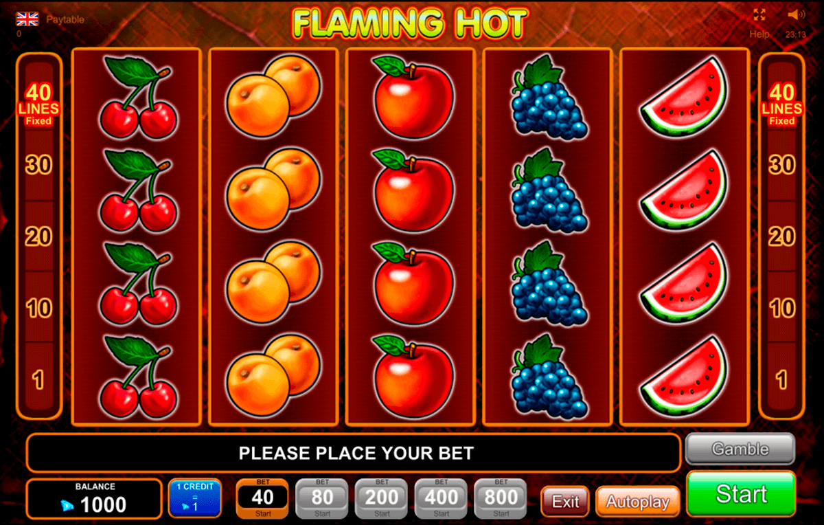 flaming hot egt