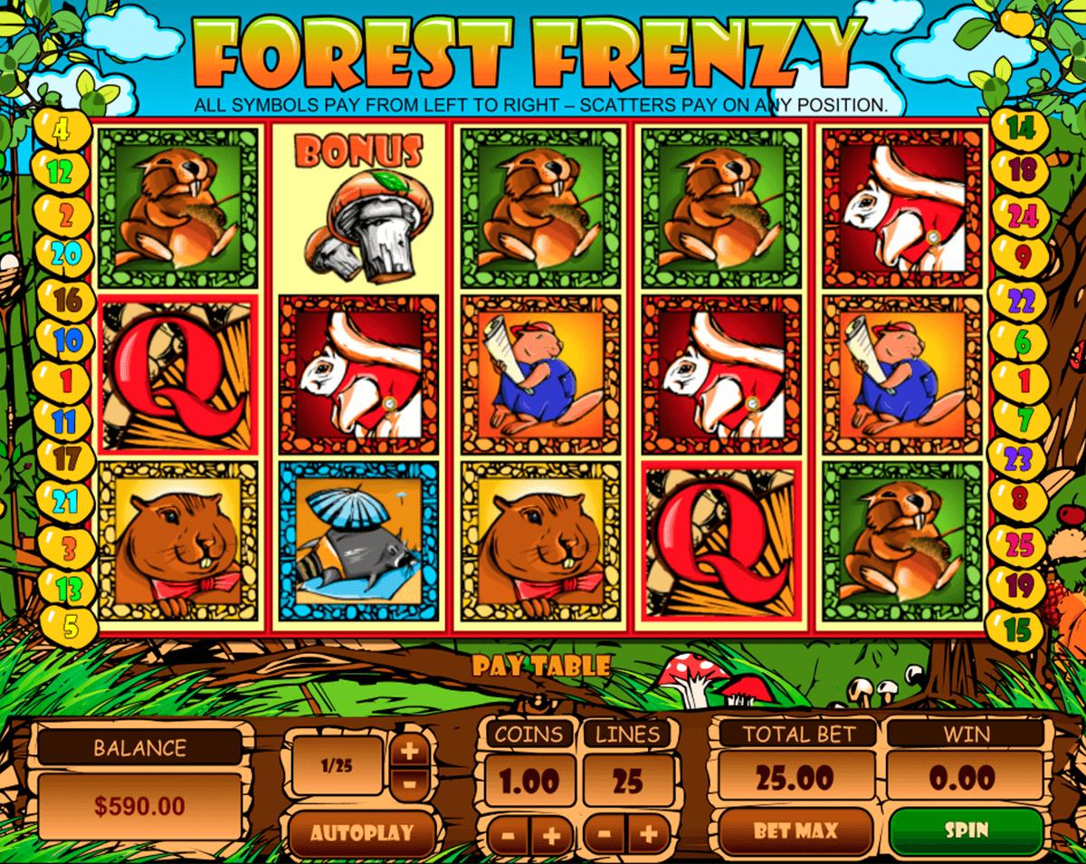 forest frenzy pragmatic