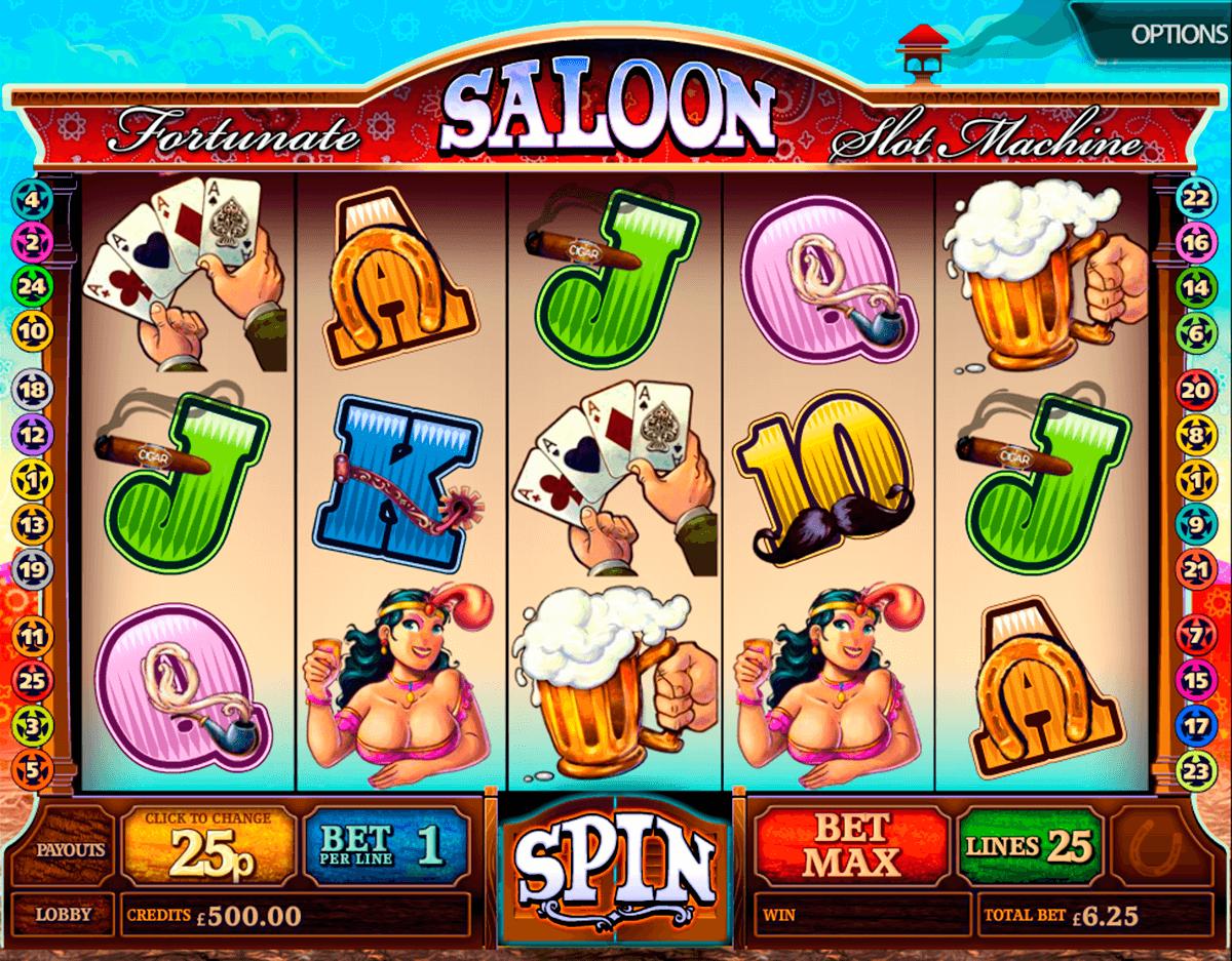 fortunate saloon multislot