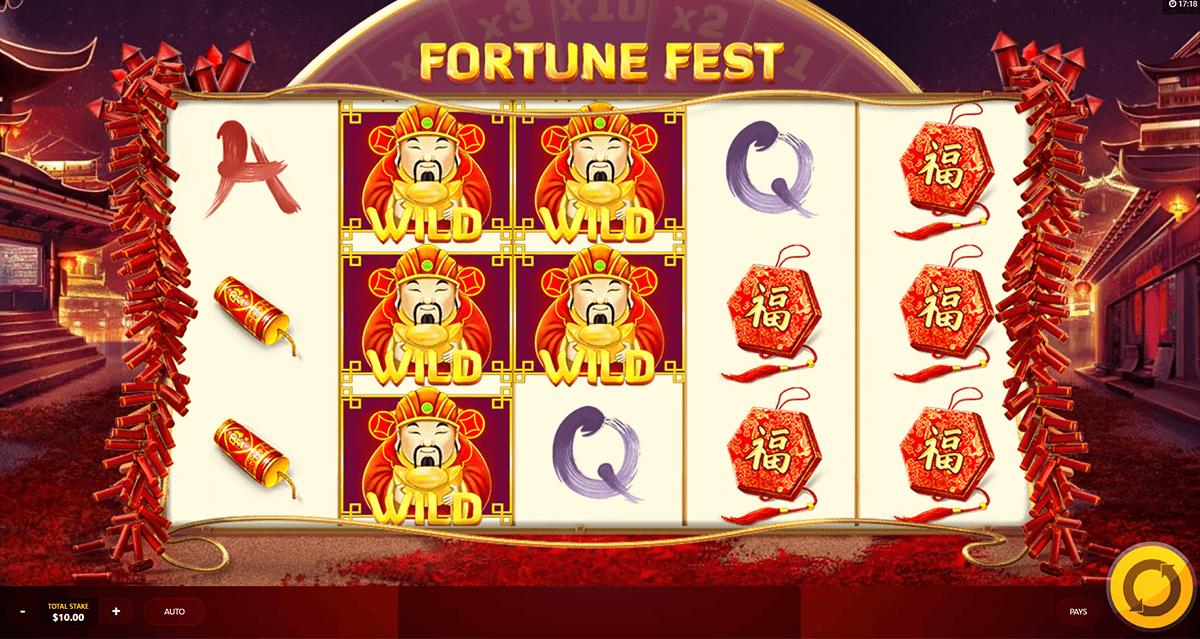 fortune fest red tiger