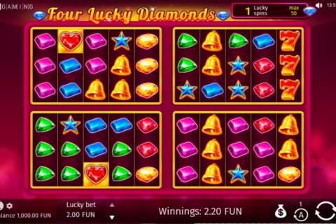 four lucky diamonds bgaming