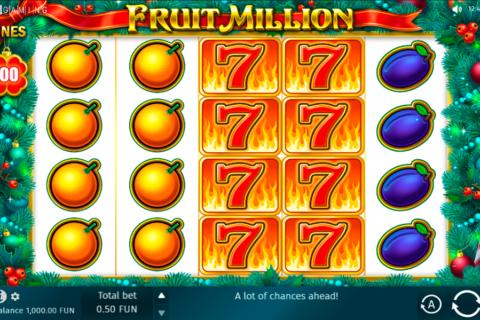 fruit million online bgaming