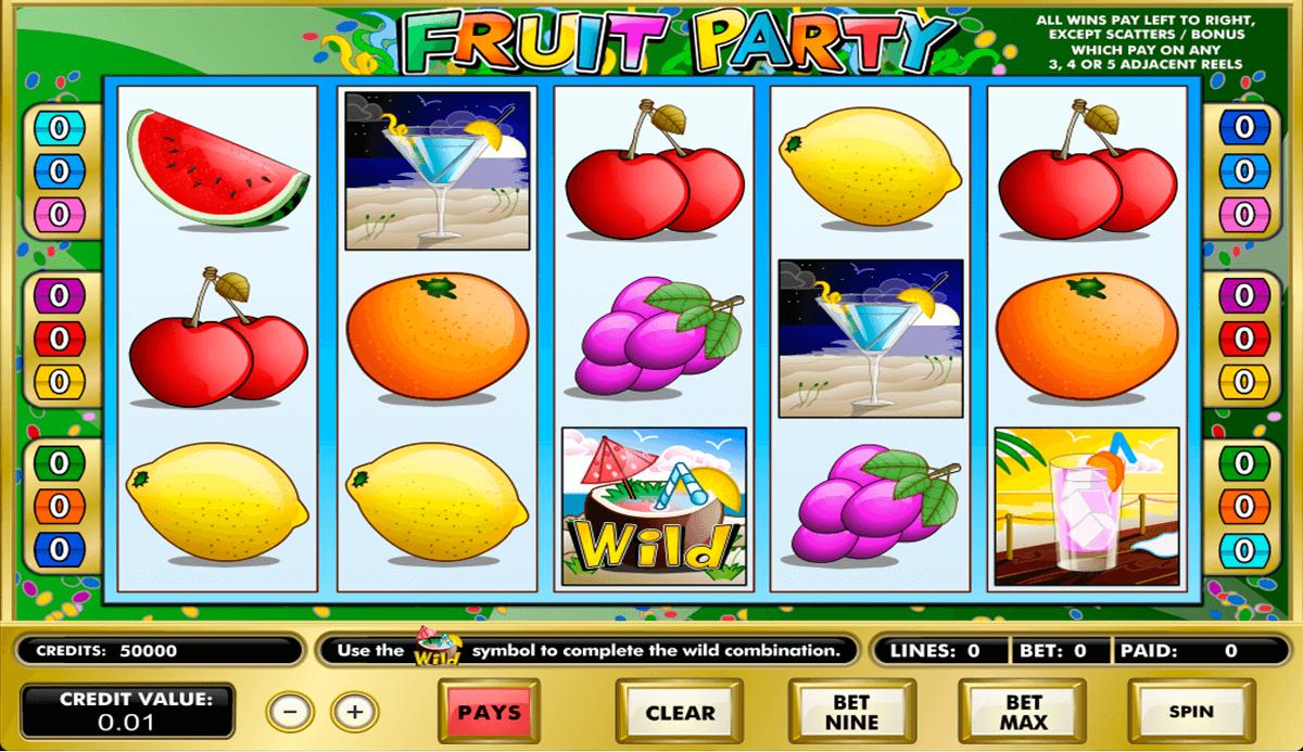 fruit party amaya