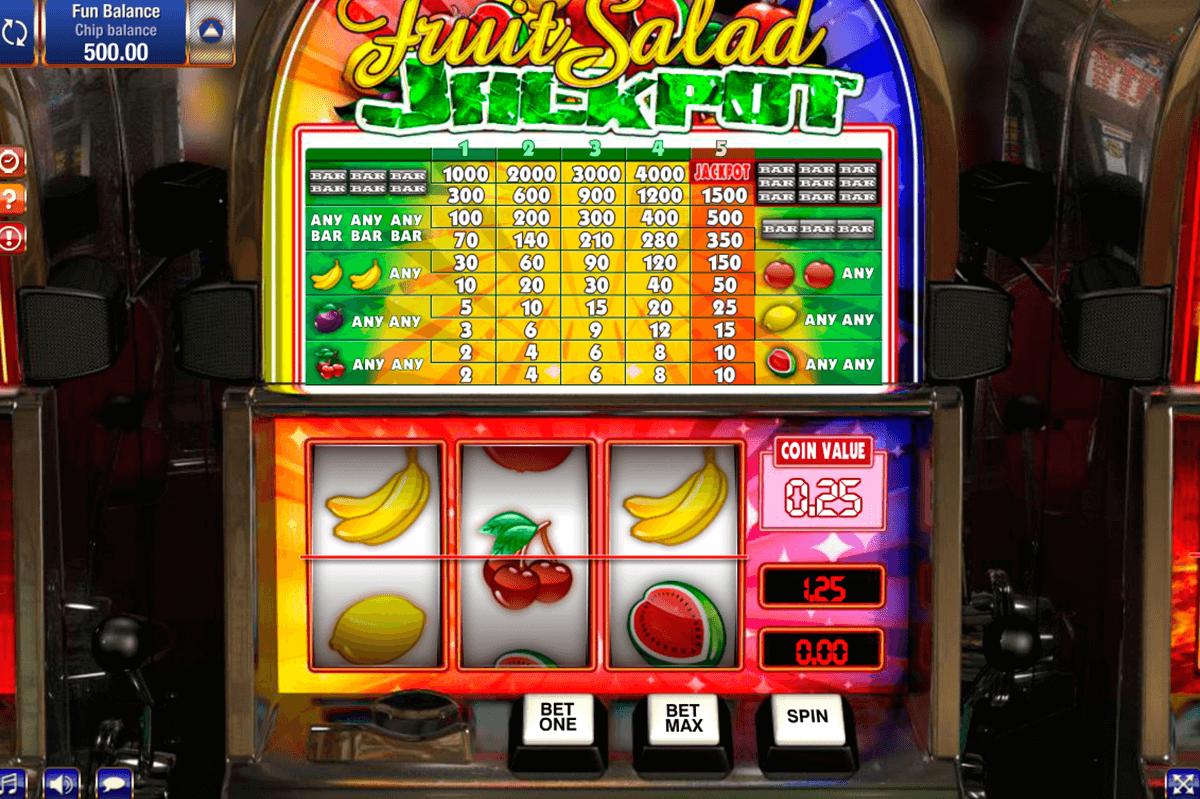 Progressive slot machine jackpot