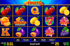 fruits evolution hd world match