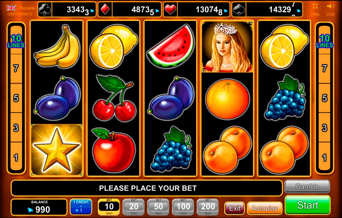 fruits kingdom egt