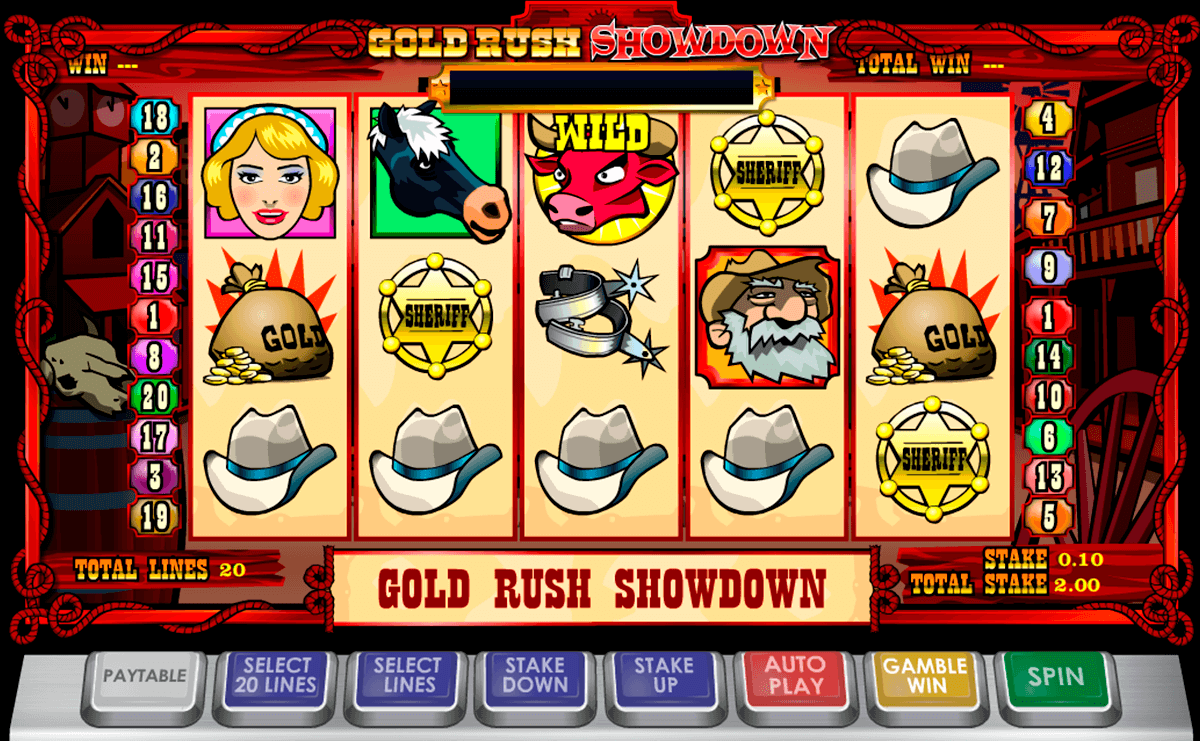 gold rush showdown ash gaming