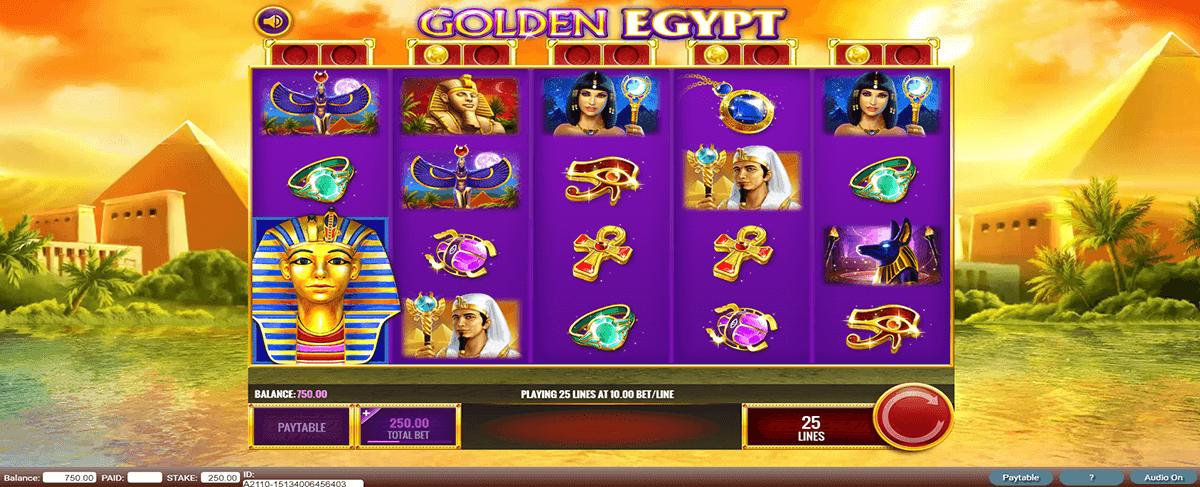 golden egypt igt