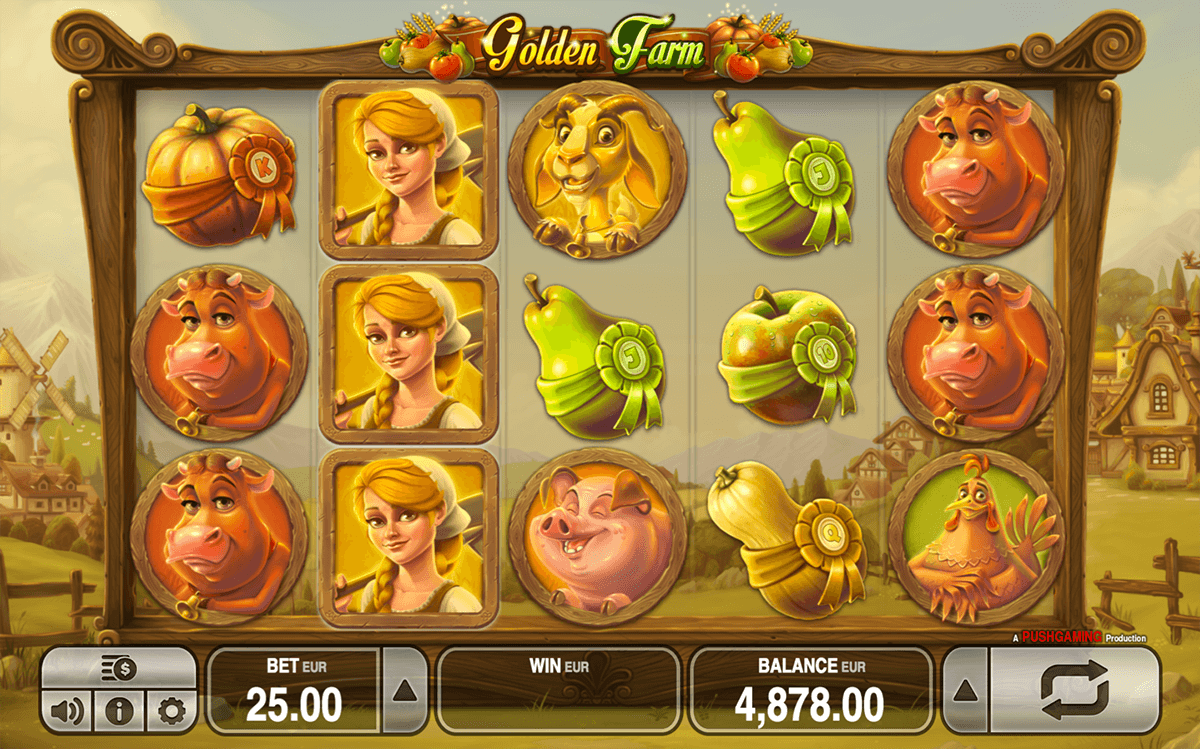 golden farm push gaming