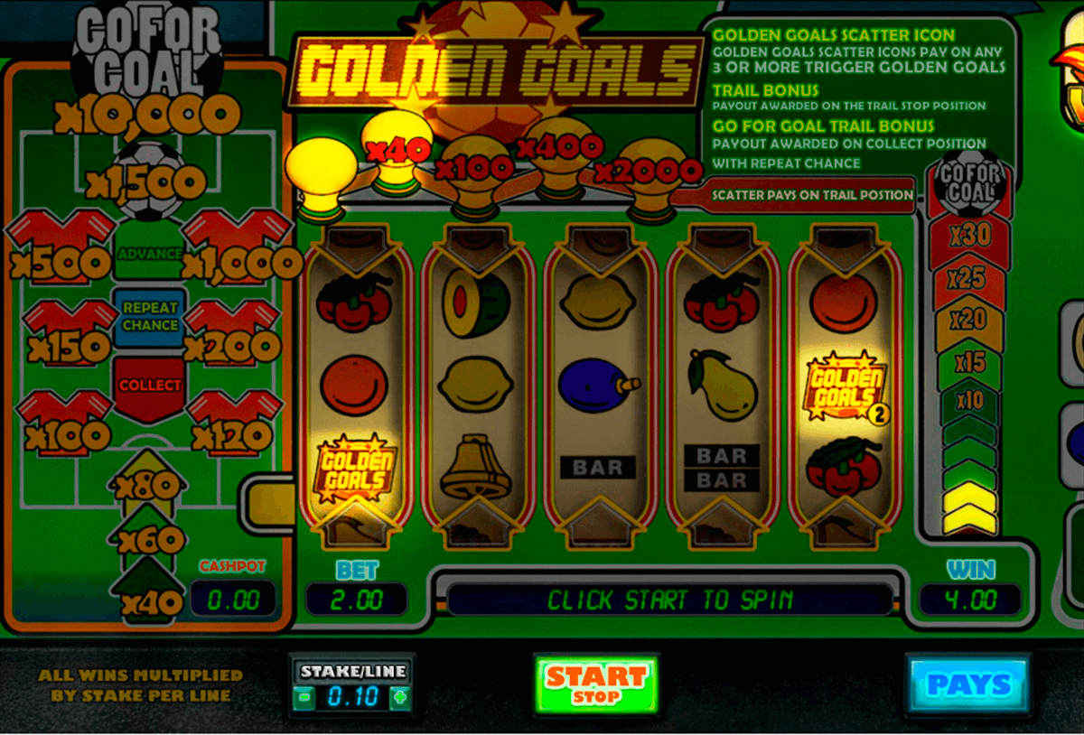 golden goals big time