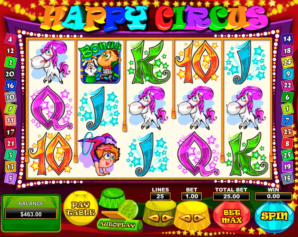 happy circus pragmatic