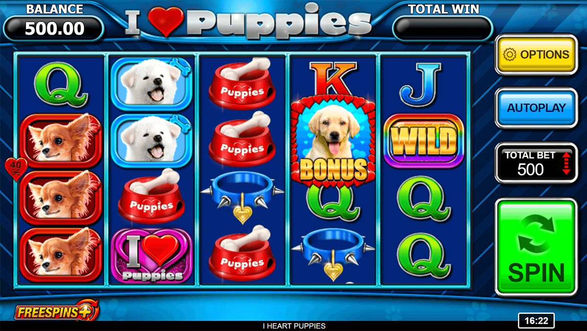 i heart puppies inspired gaming