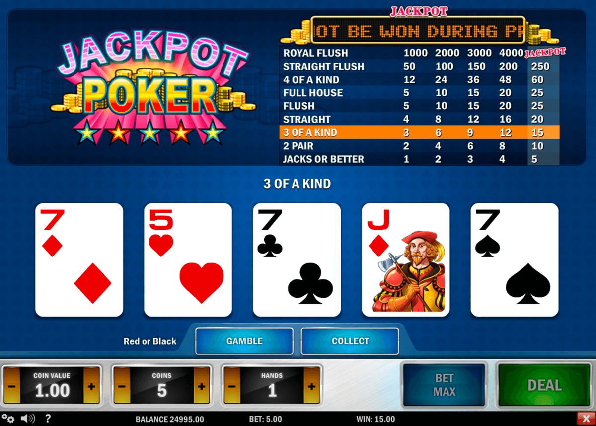 jackpot poker playn go